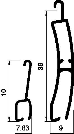 Lame PM 49 Bombée