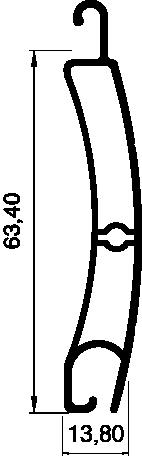 Lame PS 64 Bombée